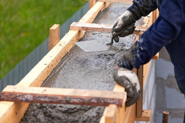 coffrage horizontal beton
