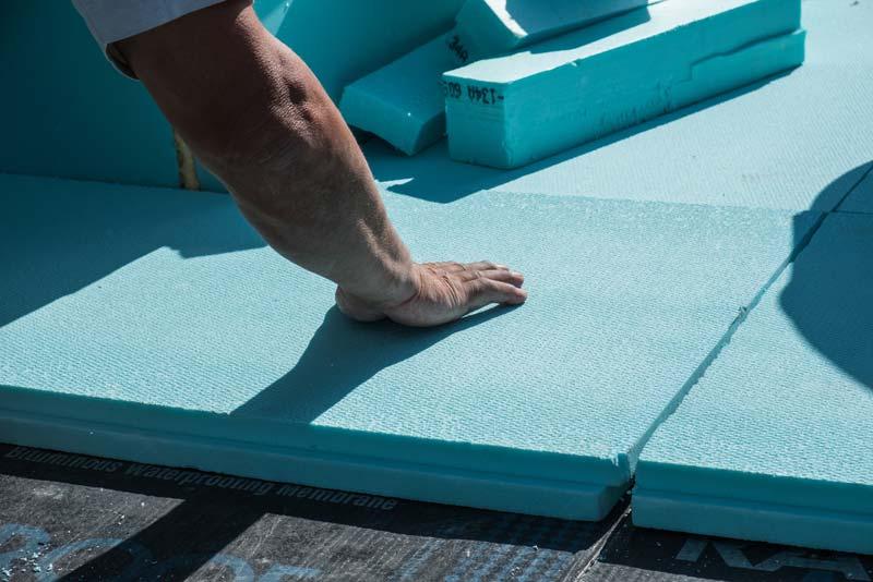 isolant polystyrène pour un plancher doté d'une isolation RT 2012
