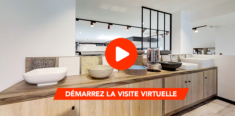 Visitez le showroom carrelage de Villeurbanne depuis chez vous !