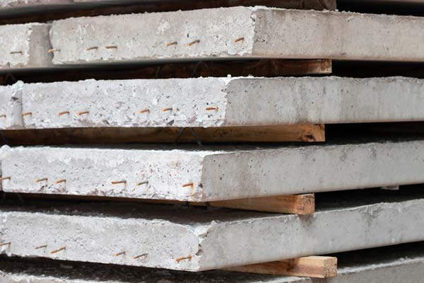 les types de planchers : la prédalle