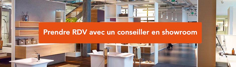 RDV showroom carrelage Saint-Herblain