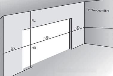 Dimensions porte de garage : la prise de cotes