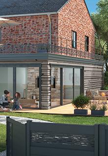 Catalogue Aménagement extérieur - Terrasse, murs, portails ...