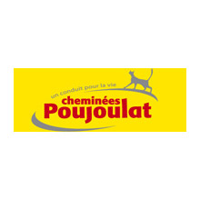 Image result for cheminée poujoulat logo