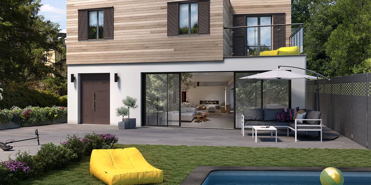 Exterieur Moderne Design Point P